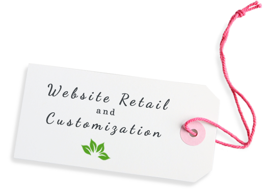 Website Retail and Customization